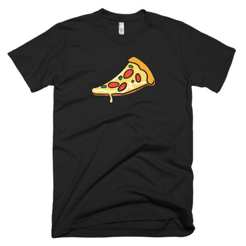Just A Slice Of Pizza - Short Sleeve Men's T-Shirt For Pizza Lovers