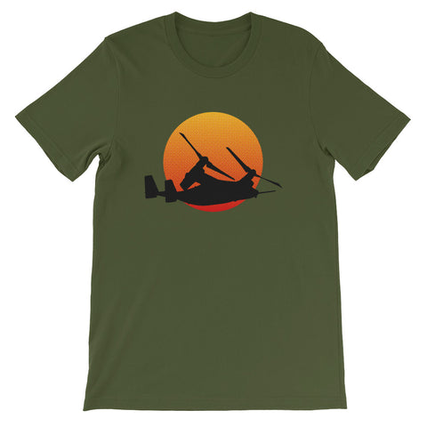V-22 Osprey Aircraft Short-Sleeve Unisex T-Shirt