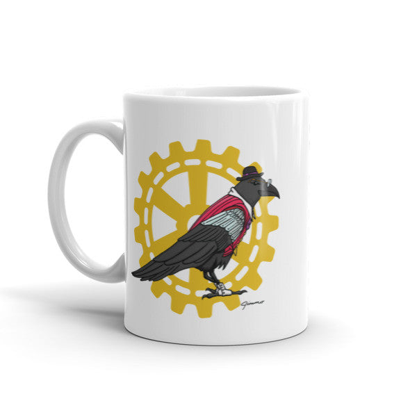 Steampunk Raven Guide - Mug