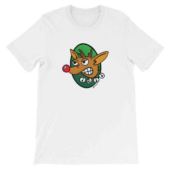 Rudy The Red Nose Reindeer Short-Sleeve Unisex T-Shirt