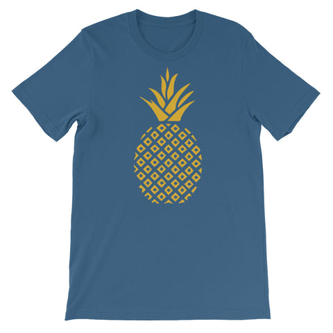 Golden Pineapple - Unisex Short Sleeve T-Shirt