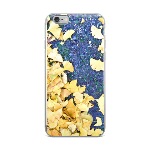 Golden Ginko iPhone Case