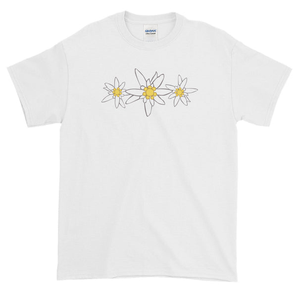 Edelweiss Flowers Oktoberfest Man's Short Sleeve T-Shirt
