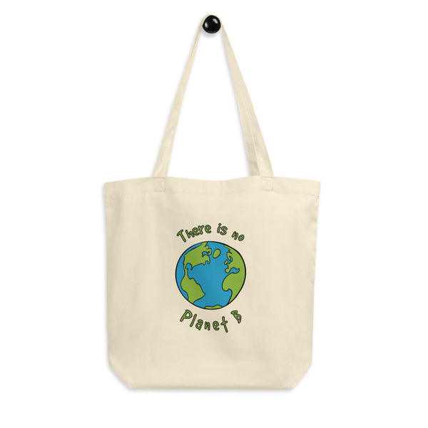 Ditch the plastic! This Jimmo Designs reusable shopping tote bag was created for the environment conscious person. It is made of organic cotton. Great gift for any environmentally conscious person. If you are a concerned nature loving tree hugger, this bag is for you. Zero waste!