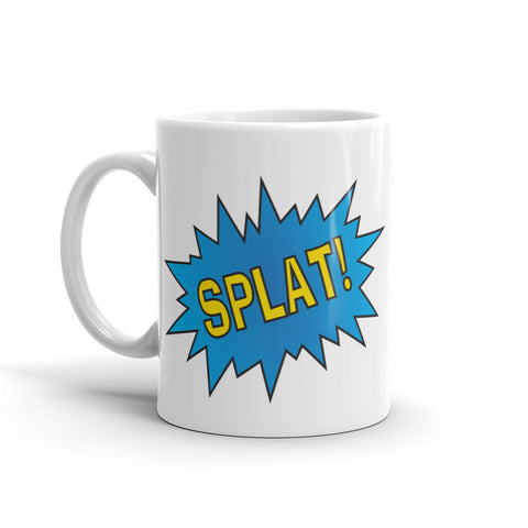 SPLAT! The Old School Emoticon - Mug