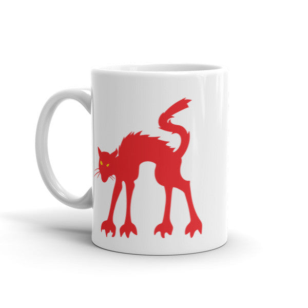 Wild Red Cat Mug For Cat Lovers