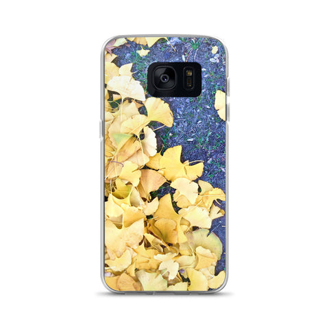 Golden Ginko Samsung Case