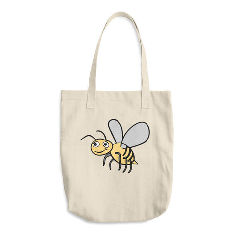 Bee Lovers Honeybee Reusable Shopping Tote Bag