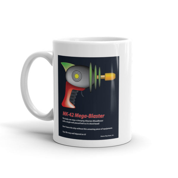 MK-42 Mega-Blaster - Mug For Science Fiction Lovers