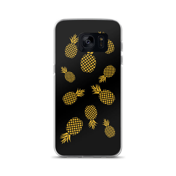 Golden Pineapples Samsung Case