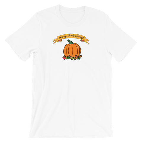 Happy Thanksgiving Short Sleeve Unisex T-Shirt