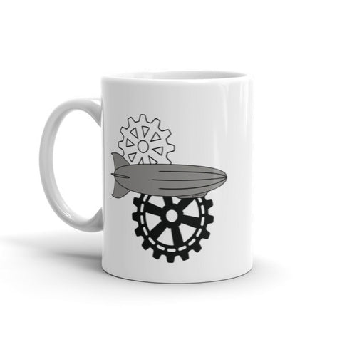 Cogs and Airships - Steampunk Mug