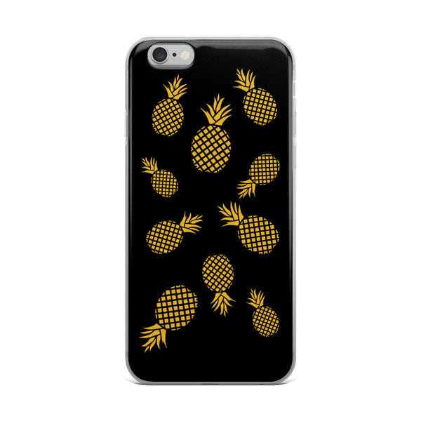 Golden Pineapples iPhone Case For Pineapple Lovers