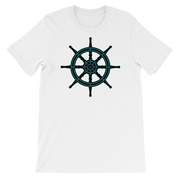Mysterious Land Nautical Two Sided Short Sleeve T-Shirt (Unisex)