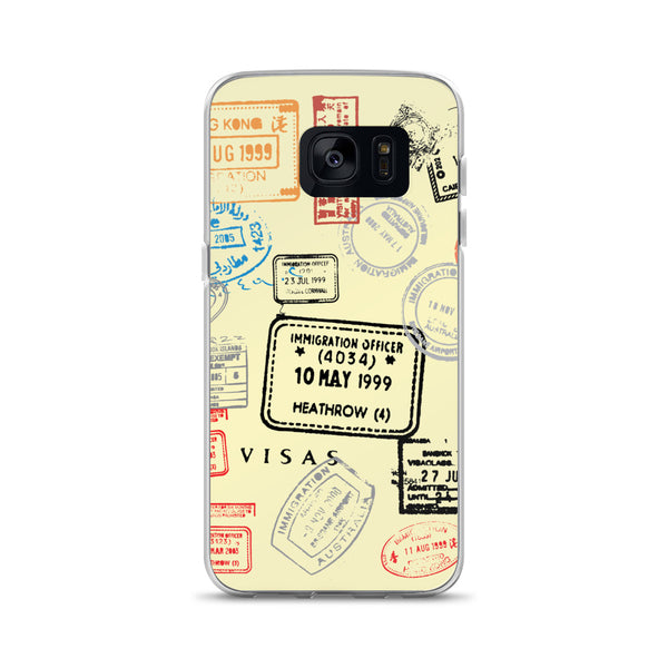 Frequent Flyer Samsung Case