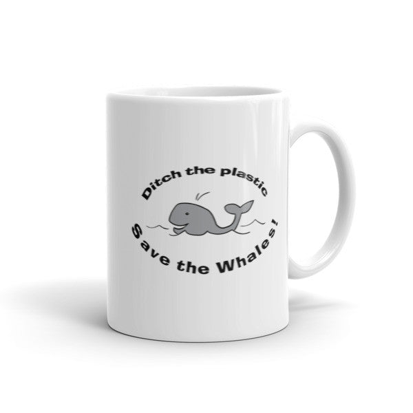 Save The Whales - Environmental Awareness Mug