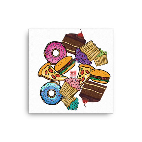 Junk Food - Canvas For Gourmets And Gourmands