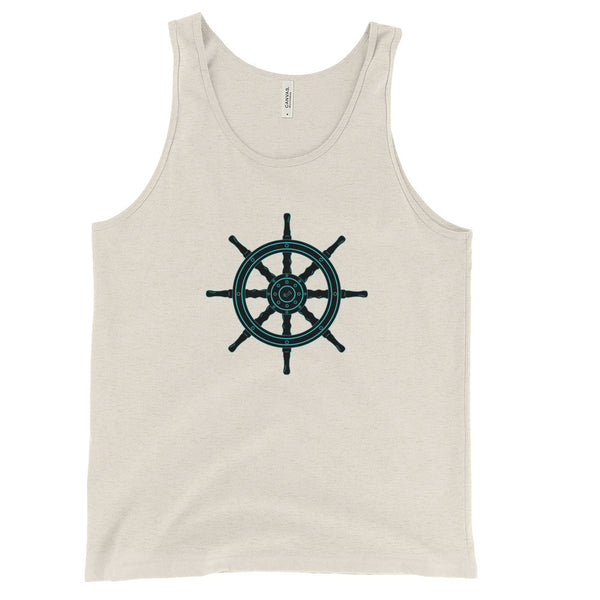 Ship's Wheel - Nautical Unisex Tank Top