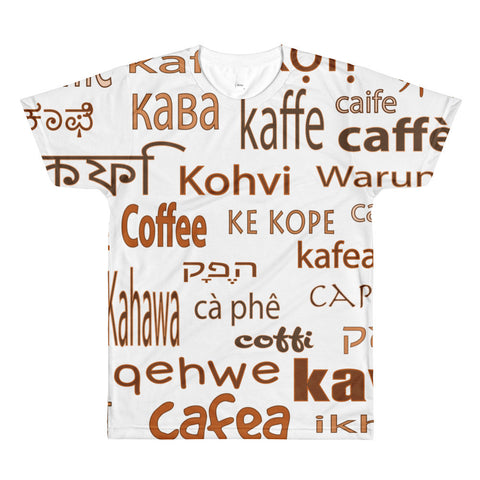 Coffee - Sublimation Men's Crewneck T-Shirt