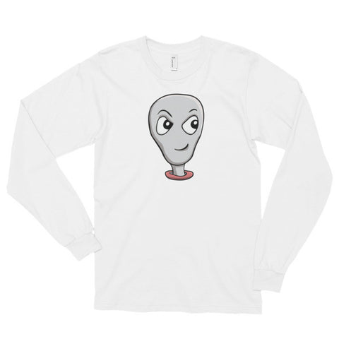 Alien Head - Long Sleeve T-Shirt For Sci Fi Lovers (Unisex)