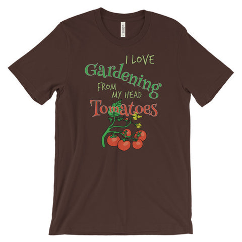 I Love Gardening Unisex Short Sleeve T-Shirt
