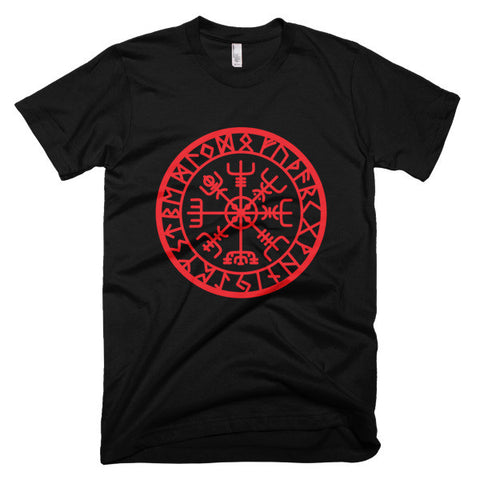 Icelandic Vegvisir Men's Short Sleeve T-Shirt