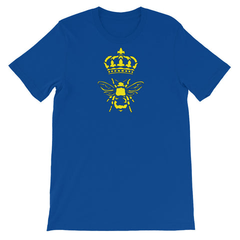 Royal Queen Bee - Short Sleeve Unisex T-Shirt