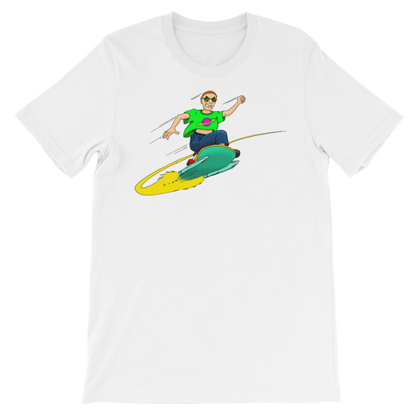Sky Surfer - Unisex Short Sleeve T-Shirt