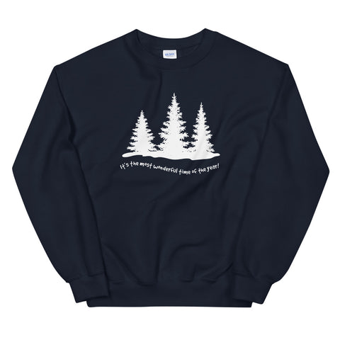 The Most Wonderful Time Of The Year Unisex Winter Sweatshirt