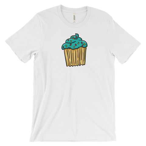Blue Cupcake - Unisex Short Sleeve T-Shirt