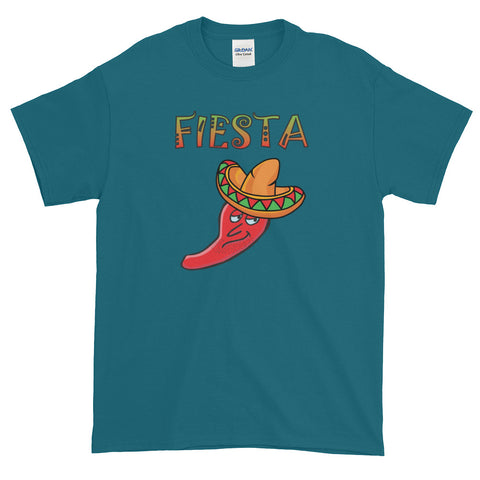 Hot Chili Pepper And Sombrero Fiesta T-Shirt For The Festival Season