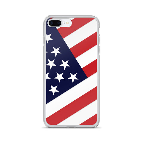 Stars And Stripes Patriotic Americana iPhone Case