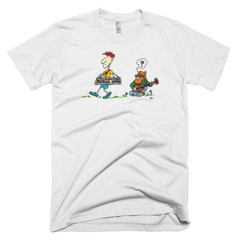 Music Old and New - Short Sleeve Men's T-Shirt