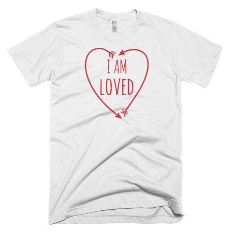I Am Loved - Short Sleeve Men's T-Shirt