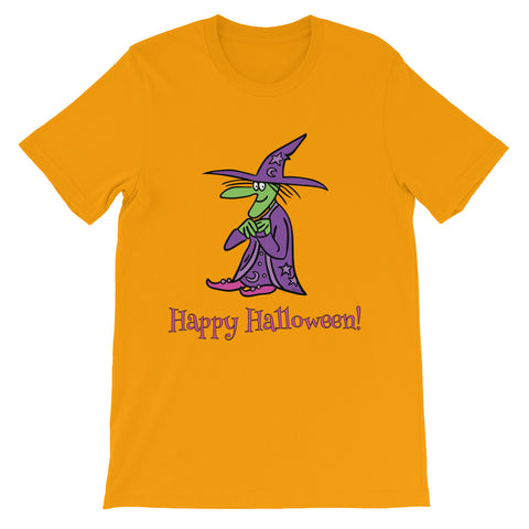 Agatha The Friendly Witch - Unisex Halloween Short Sleeve T-Shirt