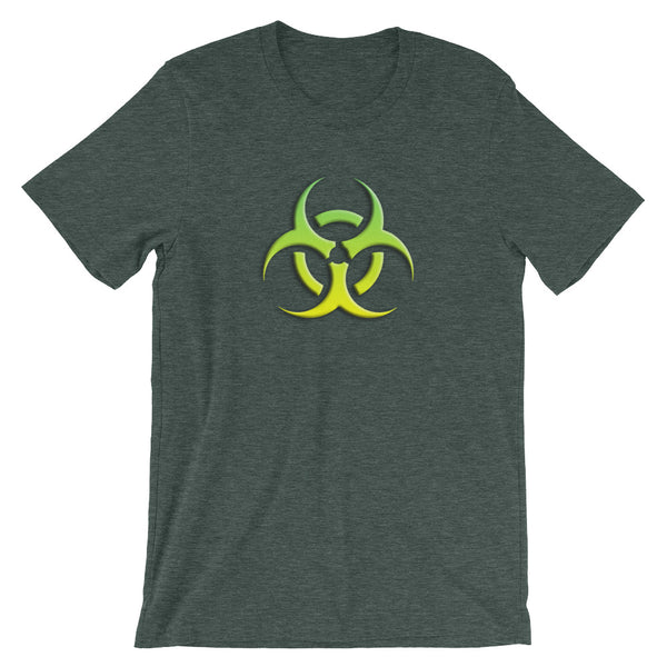 Toxic! Short Sleeve T-Shirt For Contrarians (Unisex)