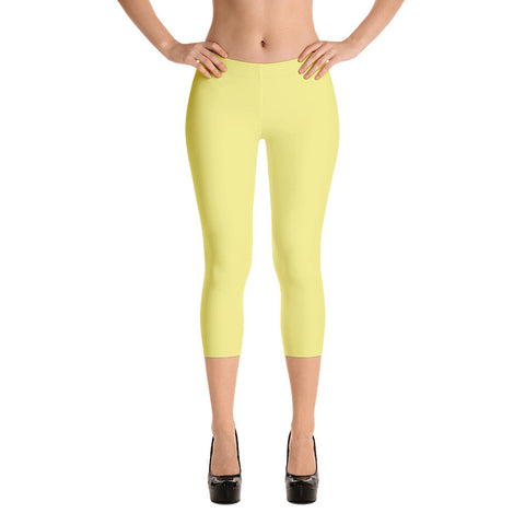 Golden Private Label Capri Leggings