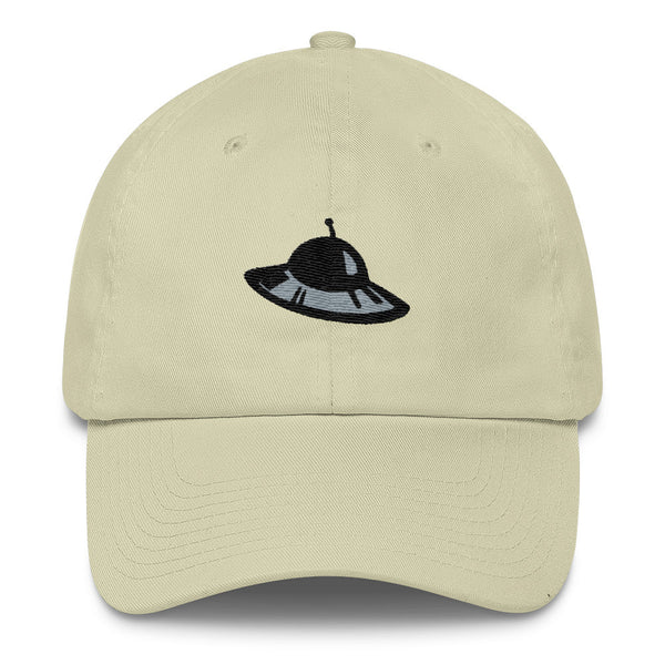 Flying Saucer - UFO Cotton Cap For Science Fiction Lovers