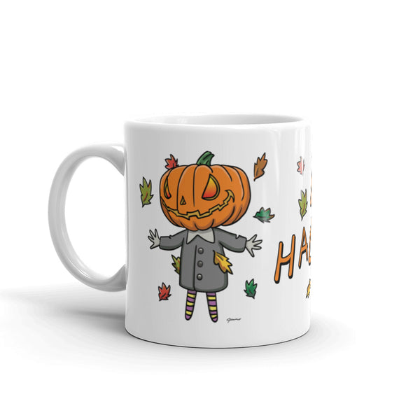 Cute Jack Happy Halloween Mug