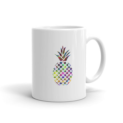 Pineapple Love Psychedelic Pineapple Art Mug