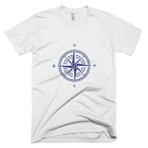 Compass Rose Nautical Short Sleeve Men's T-Shirt