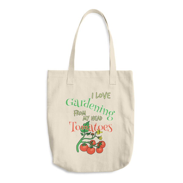 I Love Gardening Reusable Shopping Tote Bag