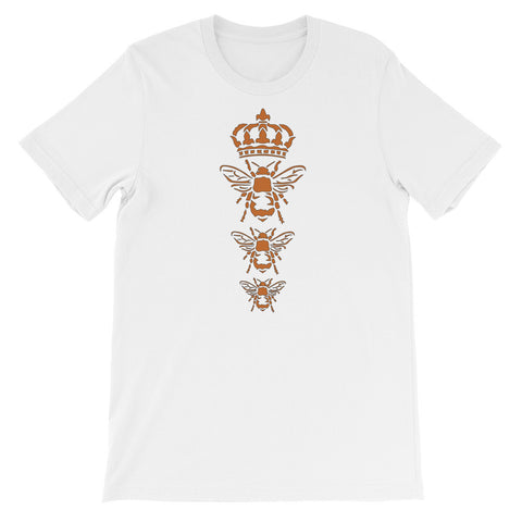 Three Royal Bees - Unisex Short Sleeve T-Shirt