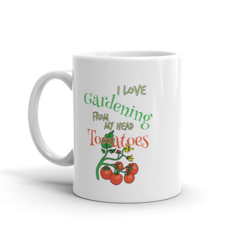 I Love Gardening - Inspirational Mug By Jimmo
