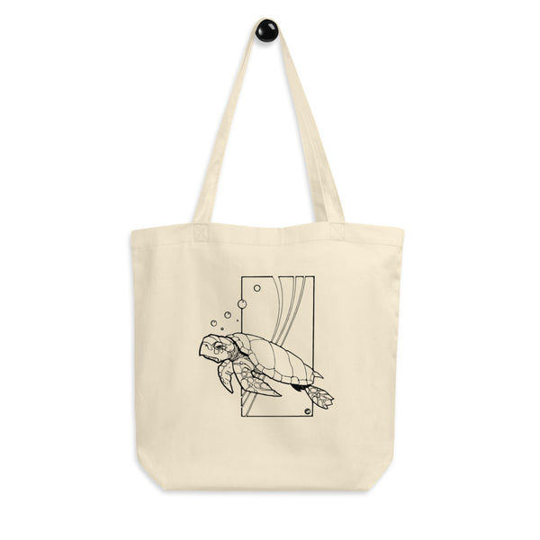 Sea Turtle by Dave Deitrick - Eco Tote Bag