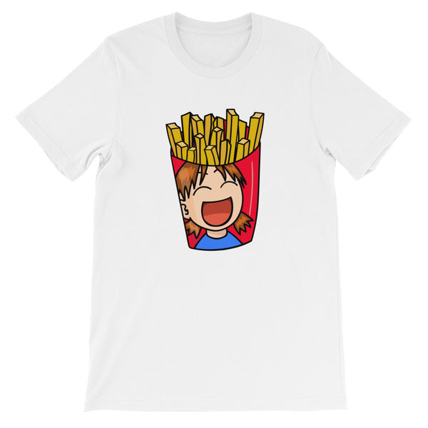 French Fries - Unisex Short Sleeve T-Shirt For Fast Food Lovers