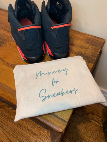 Money for Sneakers Pouch