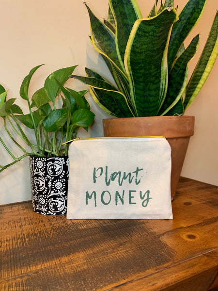 Plant Money Pouch