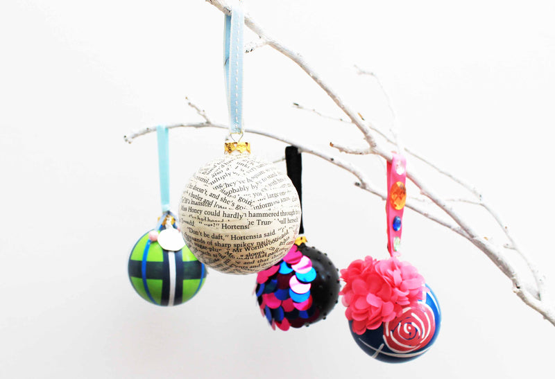 Matilda the Musical Christmas Baubles