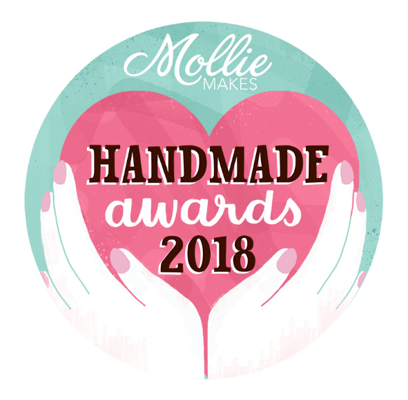 Being shortlisted for the Mollie Makes Handmade Awards 2018, over coming self-doubt and why you should apply next year